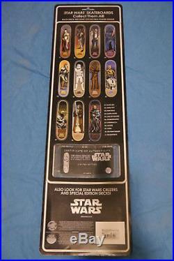 STAR WARS Skateboard Deck SANTA CRUZ OBI-WAN KINOBI LIMITED EDITION #0232