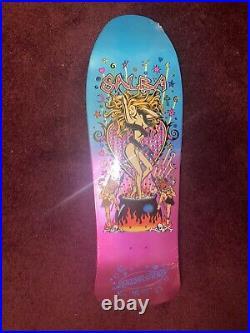 Salba Witch Doctor Dr Santa Cruz Skateboard Deck