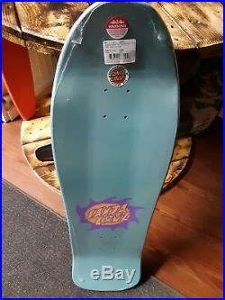 Santa Crus Jason Jessee skateboard deck 30th Neptune vintage anaversary reissue