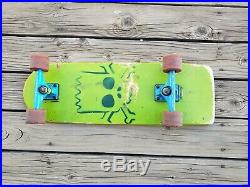 Santa Cruz Bart Simpson Authentic Skate Board