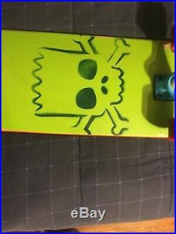 Santa Cruz- Bart Simpson Limited Edition Cruiser- Skateboard- RARE Slight Wear