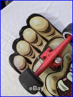 Santa Cruz Big Foot Longboard Cruzer Skateboard Complete 10.3 x 37.8 RARE 2011