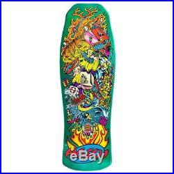 Santa Cruz Christian Hosoi Collage Candy Mint Old School Reissue Skateboard Deck