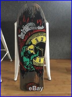 Santa Cruz Claus Grabke Hbt NOS Vintage Skateboard Deck