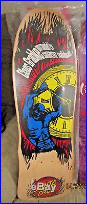 Santa Cruz Claus Grabke Holding Back Time Reissue Out of Print Skateboard