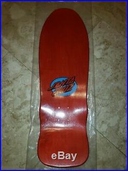 Santa Cruz Claus Grabke Melting Clocks Reissue Skateboard Deck