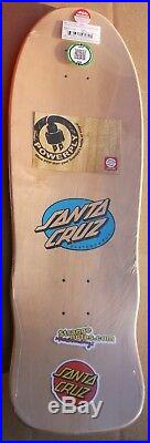 Santa Cruz Claus Grabke Melting Clocks Reissue Skateboard Deck Rare