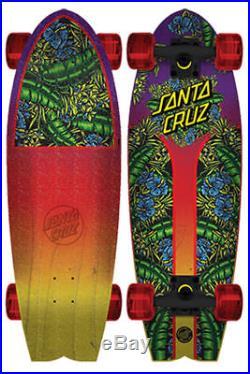 Santa Cruz Complete Cruiser Skateboard Island Sunset Land Shark
