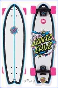 Santa Cruz Complete Cruiser Skateboard Shark Dot Landshark