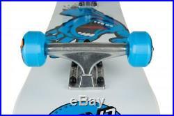Santa Cruz Complete Skateboard Screaming Hand White/Blue
