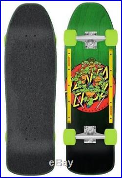 Santa Cruz Complete Skateboard TMNT Turtle Power Cruzer