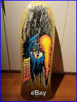 Santa Cruz Corey O Brien Reaper OG Original NOS 80s Vintage Skateboard Deck