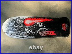 Santa Cruz Corey O'brien Reaper Reissue Skateboard Deck Old School Shape Cory