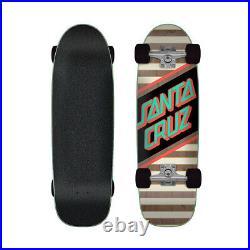 Santa Cruz Cruiser Skateboard Complete Street Skate Brown/Mint 8.79 x 29.05
