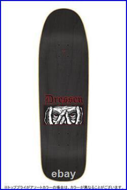 Santa Cruz DRESSEN EYES EVERSLICK Skateboard 9.31 inc