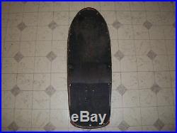 Santa Cruz Duane Peters 1980's Green Skateboard Complete, Lightly Skated