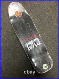 Santa Cruz Eric Dressen Eyes Pre Issue Skateboard Deck Everslick