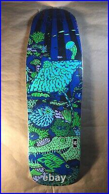 Santa Cruz Erick Winkowski Aquatic Night Old School Shaped Skateboard Deck