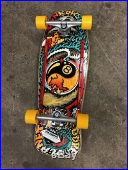 Santa Cruz Erick Winkowski Dope Planet Pre-Issue Complete Skateboard