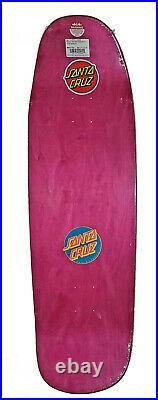 Santa Cruz Frame Screaming Hand Target Shaped Skateboard Deck Rob Roskopp 9.51