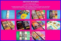 Santa Cruz / Garbage Pail Kids Adam Bomb Mystery Skateboard Deck