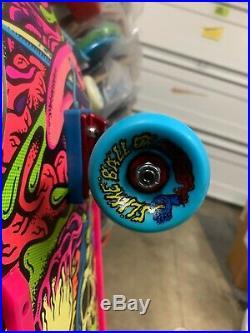 Santa Cruz Gorenado Custom Complete Skateboard