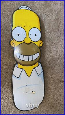 Santa Cruz Homer Simpson Skateboard New Sealed Rare