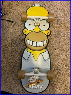 Santa Cruz Homer Simpson Skateboard The Simpsons Sealed New Complete Skate Board