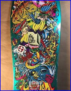 Santa Cruz Hosoi Collage Reissue Old School Skateboard Deck Jim Phillips