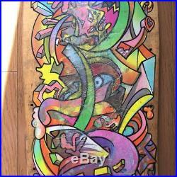 Santa Cruz Hosoi Picasso Skateboard Deck vintege