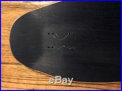 Santa Cruz Hugh Bod Boyle Stained Glass Nos Skateboard deck