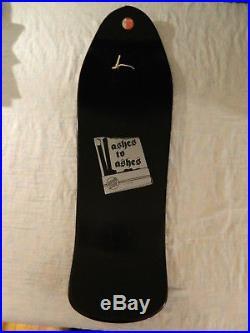 Santa Cruz Jason Jessee Ashes to Ashes Sungod Skateboard Deck Sun God Black Gray