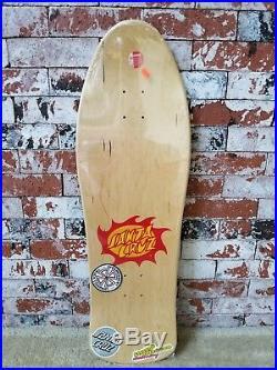 Santa Cruz Jason Jessee Autographed Neptune Limited Edition Reissue Skateboard