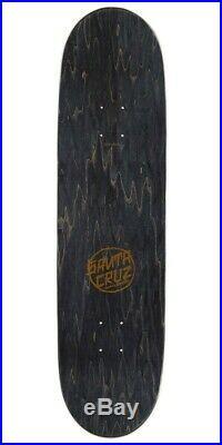 Santa Cruz Jason Jessee Guadalupe Black / Gold Skateboard Deck 8.50