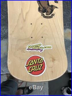 Santa Cruz Jason Jessee Guadalupe Natural Stain Reissue Skateboard Deck