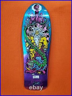 Santa Cruz Jason Jessee Neptune Reissue Skateboard Deck Purple Blue Fade New
