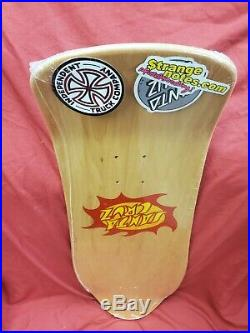Santa Cruz Jason Jessee Neptune Signed Skateboard Deck Limited Reissue