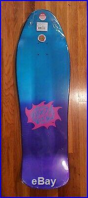 Santa Cruz Jason Jessee Neptune Vintage Reissue Skateboard Deck