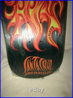 Santa Cruz Jason Jessee Sun God NOS (1988 Original) vintage skateboard deck