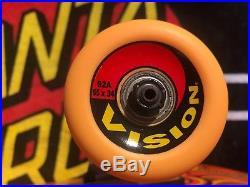 Santa Cruz Jason Jessee Sun God Orange Complete Skateboard Deck