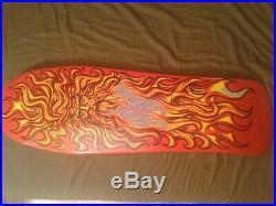 Santa Cruz Jason Jessee Sun God Reissue Skateboard Deck 30 F-ing year