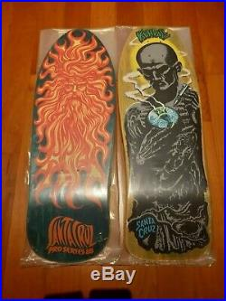 Santa Cruz Jason Jessee Sun God Sungod Original NOS 80s Vintage Skateboard Deck