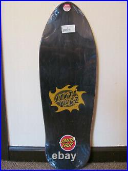 Santa Cruz Jason Jessee SunGod mini skateboard deck reissue raised ink