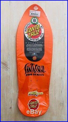 Santa Cruz Jason Jessee Sungod Orange Reissue Skateboard Deck
