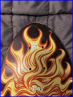 Santa Cruz Jason Jessee Sungod Skateboard Deck Original
