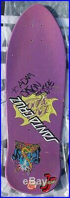 Santa Cruz Jason Jessee Vintage NOS Old School Skateboard Powell Peralta Hosoi