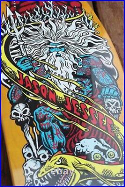 Santa Cruz Jason Jessee yellow reissue Skateboard Deck Powell peralta Bones