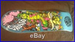 Santa Cruz Jeff Grosso Alice Cease & Desist /100 skateboard deck New