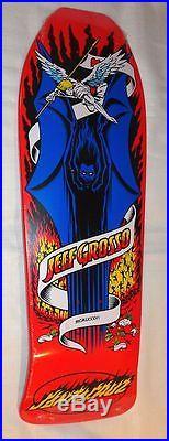 Santa Cruz Jeff Grosso Demon Bat Reissue Skateboard Deck Last one in stock