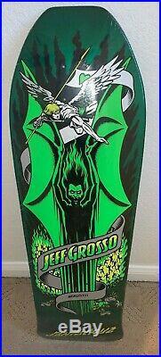 Santa Cruz Jeff Grosso Demon Skateboard Deck- Re -issue (Green)